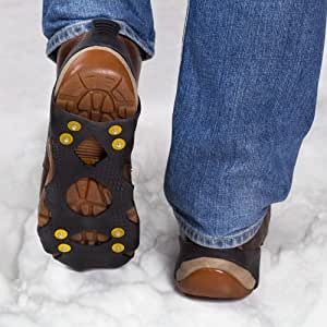 Snow & Ice Grips for Shoes - Size 6 - 11