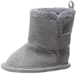 Gerber Cozy Faux Suede Winter Boot (Infant),Grey,2 M US Infant