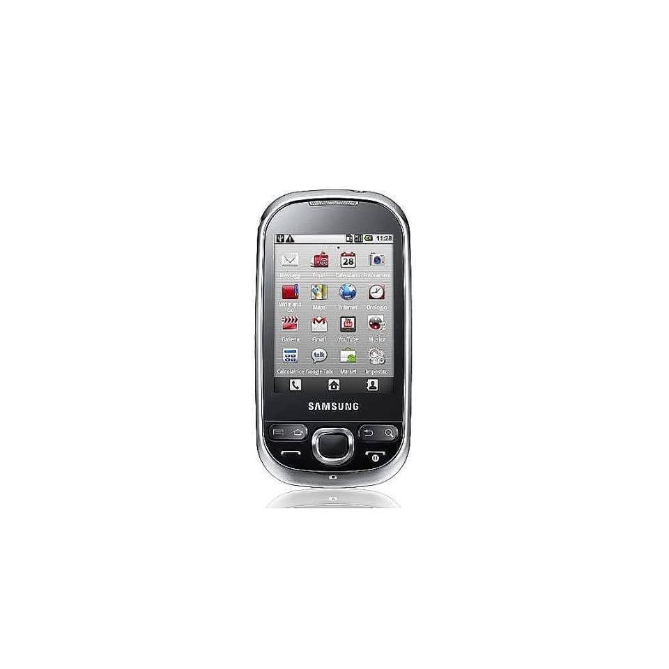 Samsung I5503 Galaxy 5 Unlocked Cell Phone with Camera, GPS, Bluetooth  International Version with No Warranty (Black/White)