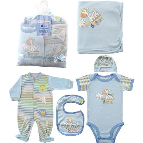 baby boy clothes. 6-Piece Baby Clothing On