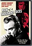 Man of a Thousand Faces [DVD] [1957] [Region 1] [US Import] [NTSC]