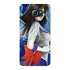 Gorgeous Angel Looks Print Back Case Cover for Galaxy Note 5