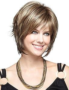 Maysu short straight Fashion Layered bob wigs healthy