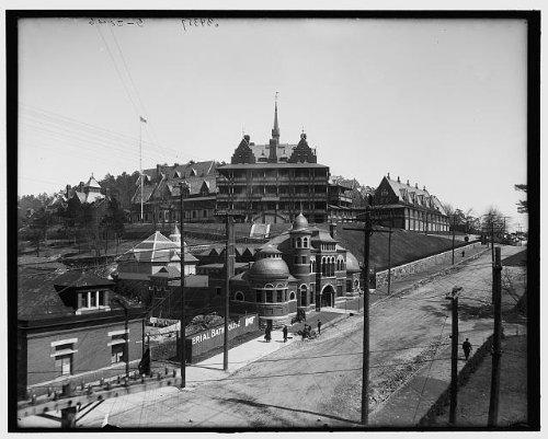 Photo: Army,Navy General Hospital,public baths,health care,Hot Springs,Arkansas,AR,1900