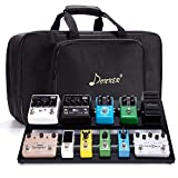 Donner Guitar Pedal Board Case DB-3 Aluminium Pedalboard with Bag