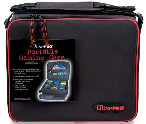 Ultra-Pro-Gaming-Case-with-Red-Trim