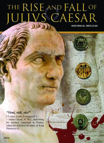 (DM 006) Rise and Fall of Julius Caesar 5x7