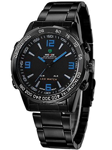 alienwork-dualtime-led-analogue-digital-watch-multi-function-wristwatch-stainless-steel-black-black-