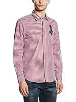 Galvanni Camisa Hombre Cosmas (Rojo Intenso)