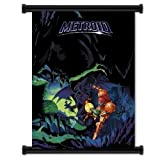 Metroid Game Fabric Wall Scroll Poster (32