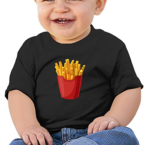 [ULEANDY French Fries Infants &Toddlers Baby's Shirt 24 Months] (French Fries Costume Toddler)