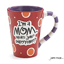 Im A Mom Whats Your SuperPower? 12oz Coffee Mug Great Gift for Mother