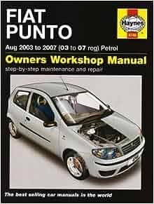 Fiat Punto Petrol (03-07) by Jex, R. M. (2008): Amazon.com: Books