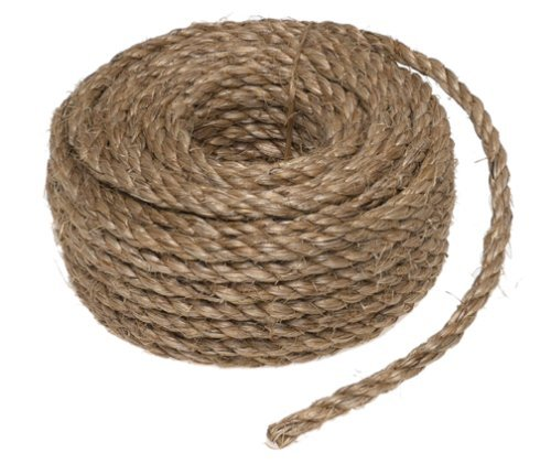 "Wellington Cordage #28764 1/4""x50'NAT Manila Rope"