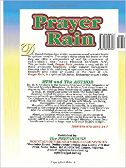 Dr olukoya rain daniel by pdf prayer