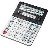 カシオ ツイン液晶電卓 税計算 デスクタイプ 8桁 DV-220W-N