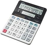 カシオ ツイン液晶電卓 税計算 デスクタイプ 12桁 DV-220W-N