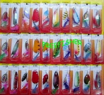 30-Spinner-Super-New-Fishing-Lure-Pike-Salmon-Bass-T10