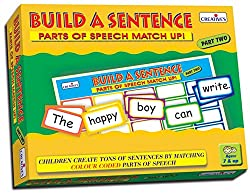 Creative Educational Aids 0906 Build a Sentence - II