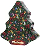 Walkers Shortbread Christmas Tree Tin...