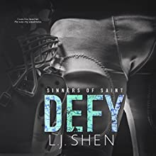Defy: Sinners of Saint, Book 2 Audiobook by L.J. Shen Narrated by Tracey Marks