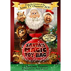 Santa's Magic Toy Bag