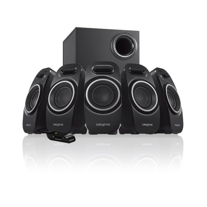 Creative A550 5.1-Channel Multimedia Speaker System (51Mf4120Aa002)