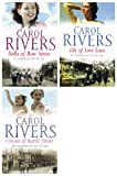 Carol Rivers: 3 books: (Lilly of Love Lane / Connie of Kettle Street / Bella of Bow Street rrp £20.97)
