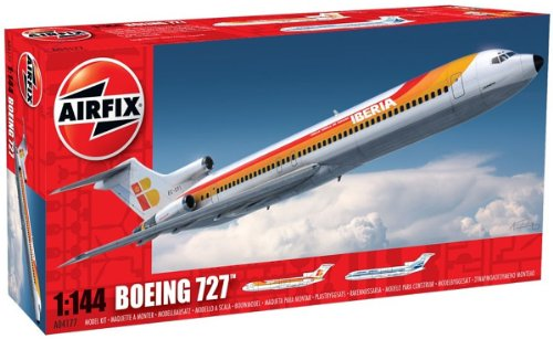 airfix-a04177-boeing-727-1144-scale-series-4-plastic-model-kit