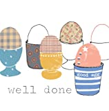 Well Done Good Egg Congratulations Card