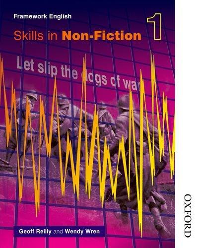 Nelson Thornes Framework English Evaluation Pack Non-Fiction 1: Nelson Thornes Framework English Skills in Non-Fiction 1: Bk. 1