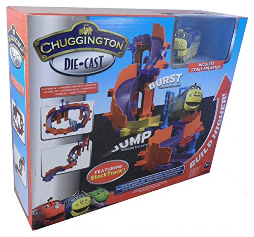 Chuggington Die-Cast StackTrack Stunt Brewster Action Playset