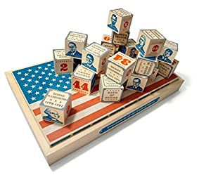 Uncle Goose US President Blocks - Made in USA