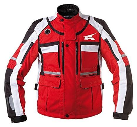 AXO MX6T0013-R00 Stone Veste, Taille L, Rouge