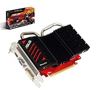 Asus AMD Radeon HD 6670 Graphics Card (1GB, DDR3, PCI-Express, AMD CrossFireX Technology)