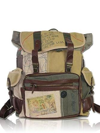 desigual damen designer rucksack tasche mochila militar bekleidung. Black Bedroom Furniture Sets. Home Design Ideas