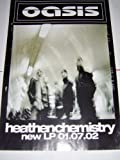 OASIS HEATHEN CHEMISTRY 2002 30 X 20 INCHES ORIGINAL POSTER