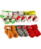 Disney Cars Backseat Driver 6-Pack Foldover Socks