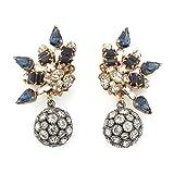 Orb Spray Clip Earrings by Bijoux Heart