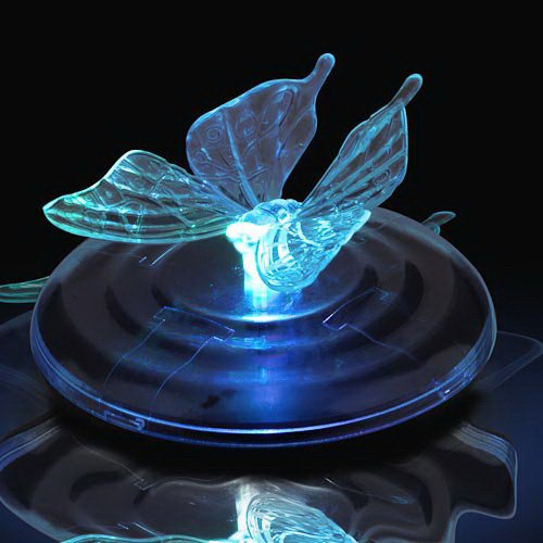 Ouku Color Changing Floating Solar Butterfly Light(Cis-57107) front-1046410