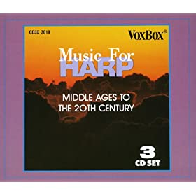 Music For Harp - Middle Ages to the 20th Century