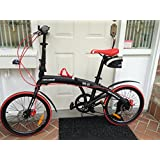 "Stowabike 20"" City Bike Compact Folding 6 Speed Shimano Bicycle"