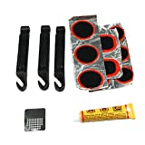 Estone Bike Bicycle Flat Tire Repair Kit Tool Set Kit Patch Rubber portable fill feta