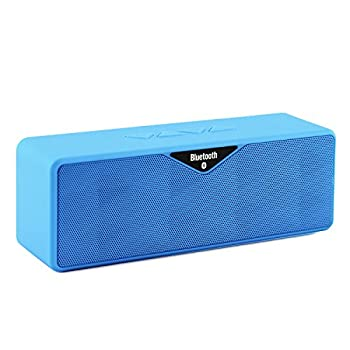 LB1 High Performance New Wireless Bluetooth Mini Speaker for Alcatel One Touch EVO 7 HD Dual-Speaker Music System with Built-in Microphone and Micro SD card slot (Blue) promo code 2015