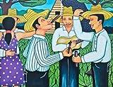 Three Amigos by Turner, Lillian - Fine Art Print on CANVAS : 39 x 30 Inches