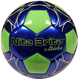 Buy Baden Nite Brite Glow in the Dark Size 4 Soccer Ball by Baden