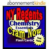 NY Regents Prep Test CHEMISTRY: The Physical Setting Flash Cards--CRAM NOW!--Regents Exam Review Book & Study Guide (NY Regents Cram Now! 4) (English Edition)