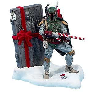 #!Cheap Kurt S. Adler 8-Inch Fabric Mache Star Wars Boba Fett Tablepiece Christmas Décor
