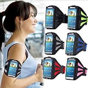 Running Gym Sport Mesh Armband Case for Samsung Galaxy S6 Edge Plus Gray