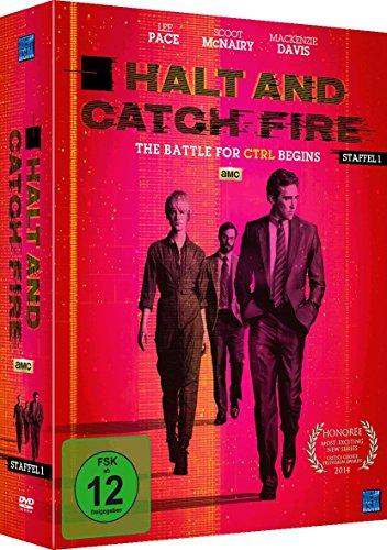 Halt and Catch Fire - The Battle For CRTL Begins [AMC] Staffel 1 (Episode 1-10 im 4 Disc Set)